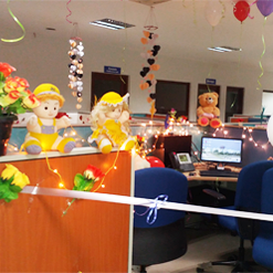 Cubicle Contest | 2016